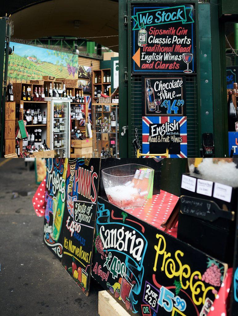 Borought Market - Londres - Inspiração tipográfica