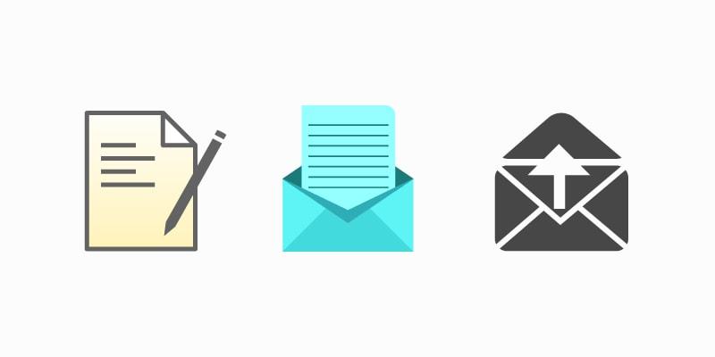 Conjunto de ícones totalmente sem um padrão.